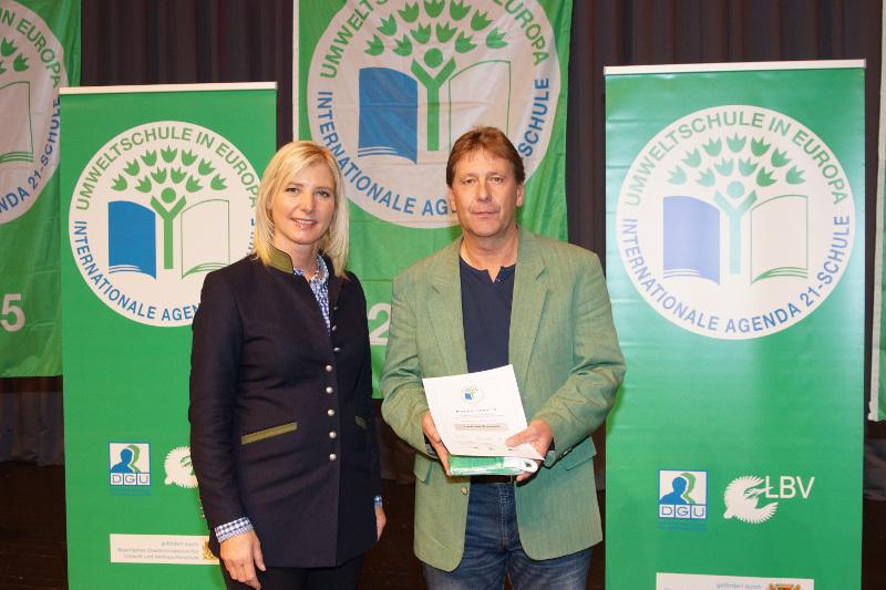 Schulen aus dem Landkreis Cham als Umweltschulen ausgezeichnet
