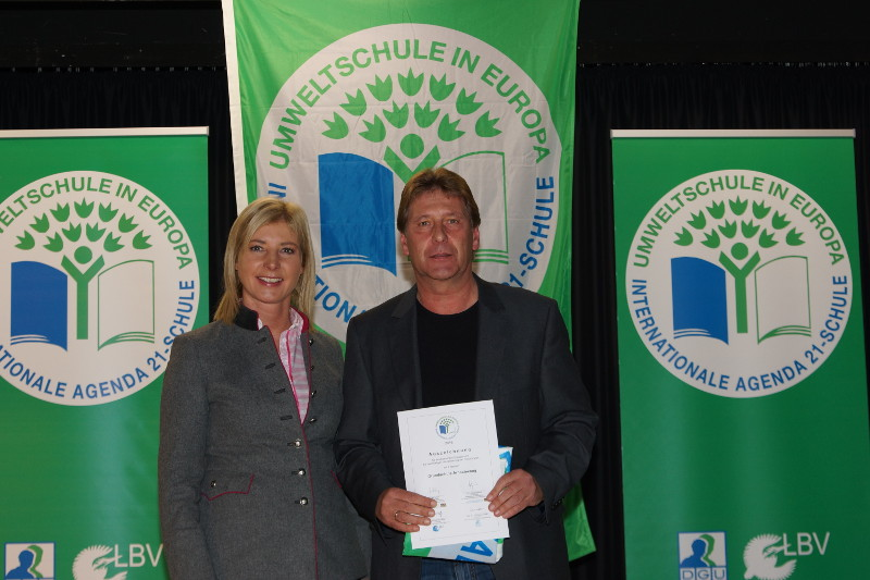 Grundschule Arnschwang ist wieder Umweltschule
