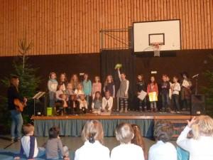 Weihnachtsfeier der Grundschule Arnschwang